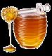 Сосуд с цветочным медом
