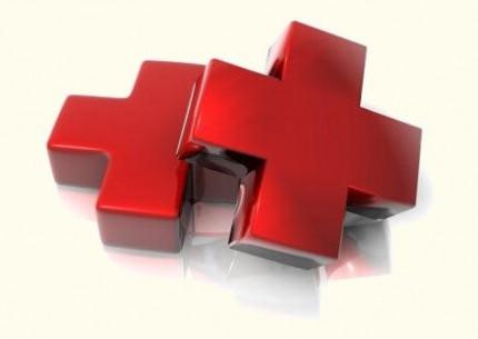 Два красных креста