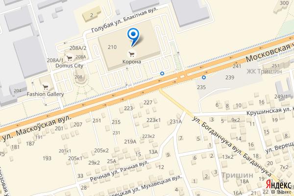 Брест, Московская улица, 210, ТЦ Корона