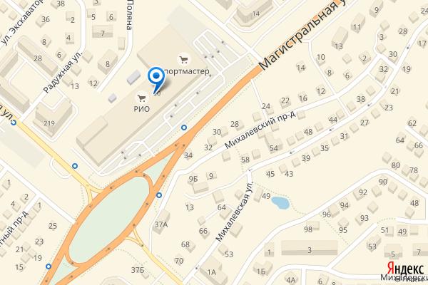 Кострома, Магистральная улица, 20, ТЦ РИО