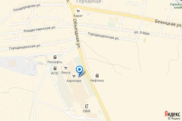 Брянск, Объездная улица, 30, ТЦ Аэропарк