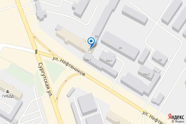 Нефтеюганск, улица Нефтяников, 28, ТЦ Ника