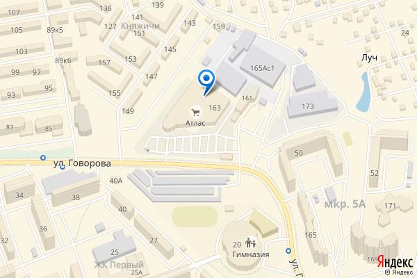 Одинцово, улица Говорова, 163, ТЦ Атлас