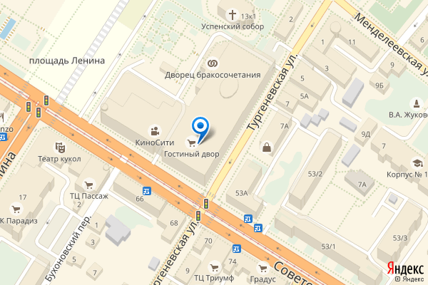 Тула, Советская улица, 47, Гостиный двор